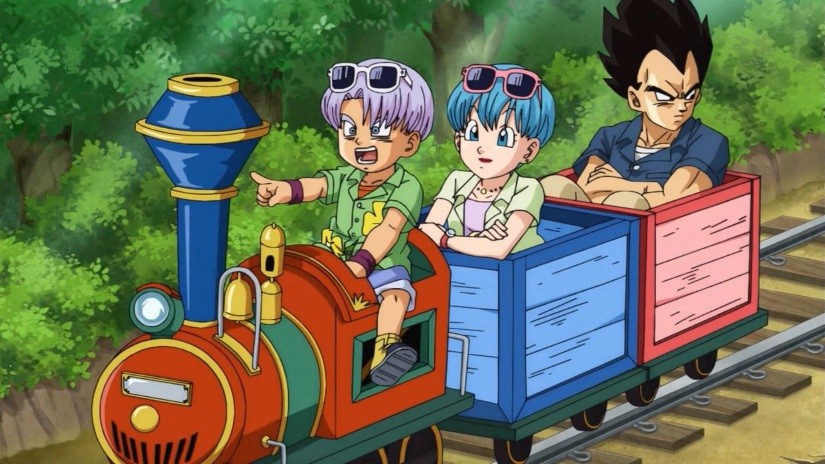 Let's Go Goku! Episode 2 – To the Promised Resort! Vegeta's Family Vacation