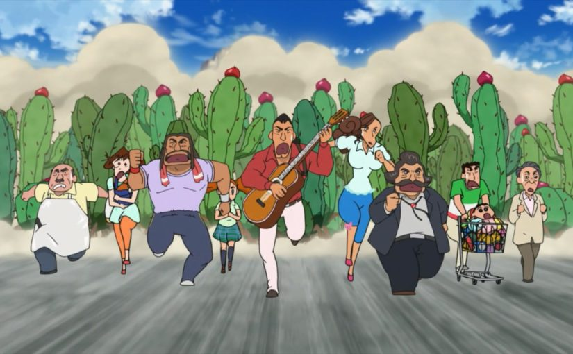 Episode 239 – Crayon Shin-chan – My Moving Story – Cactus Attack!